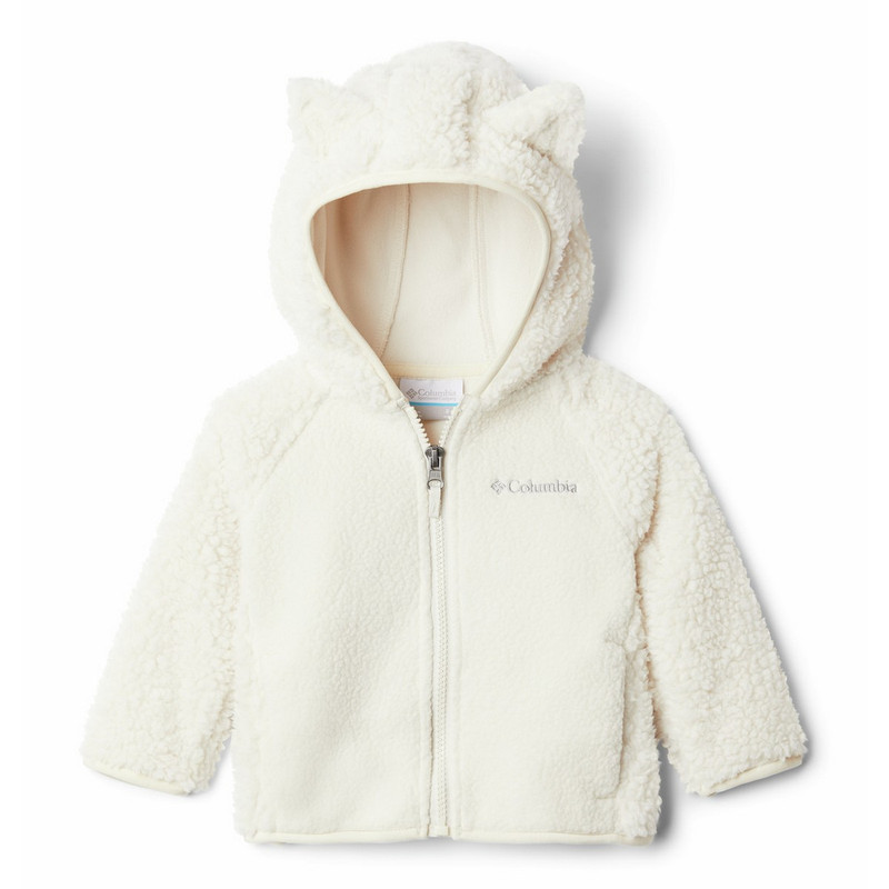 Columbia Foxy Baby Full Zip in Chalk Color