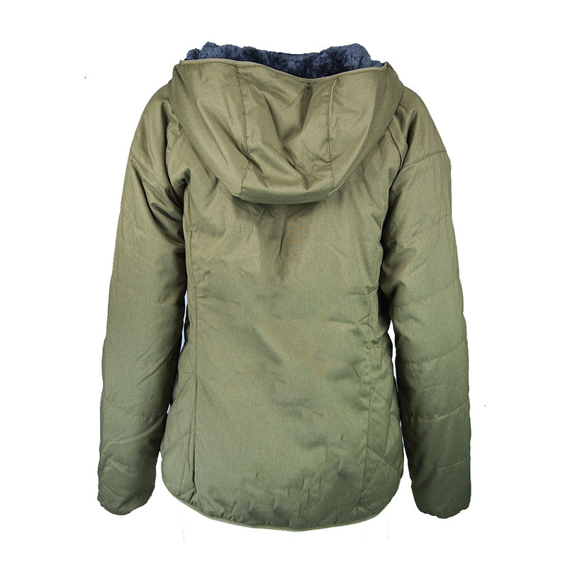 Columbia Women's Kruser Ridge II Plush Softshell Jacket in Olive
