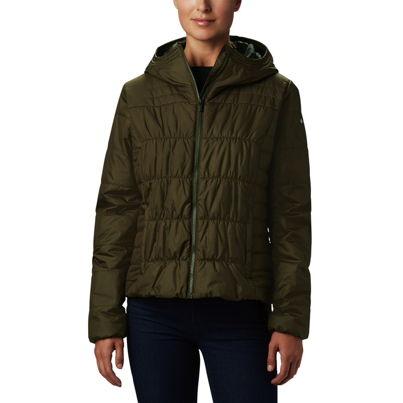 Columbia Women's Sparks Lake Jacket in Olive Green Color