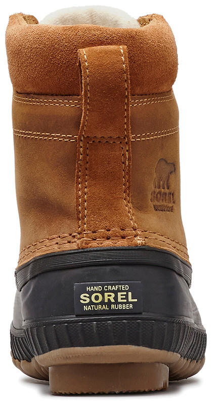 Sorel Youth Cheyanne II Lace in Elk Black Color