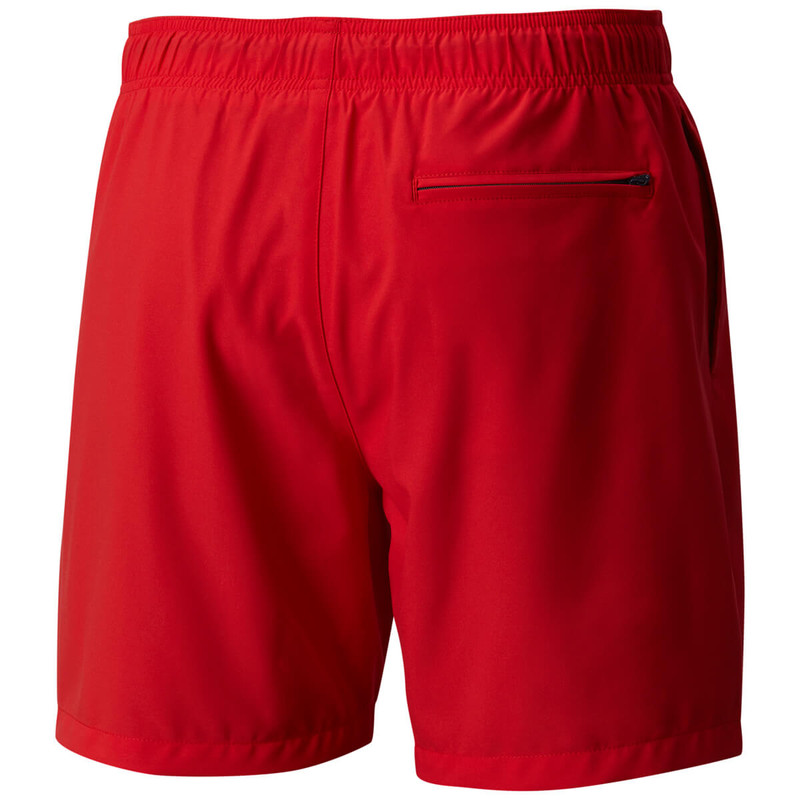 Columbia Men's Blue Magic Water Shorts in Mountain Red Stars & Stripes Color