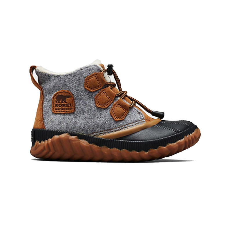 Sorel Youth Out N About Plus in Quarry Color
