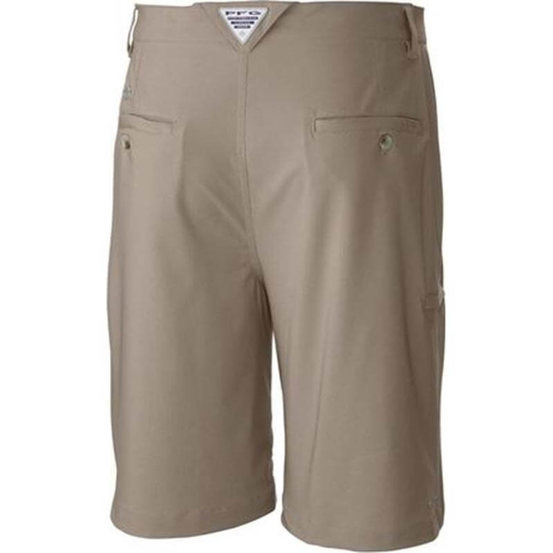 Columbia Grander Marlin II Offshore Shorts in Fossil Color