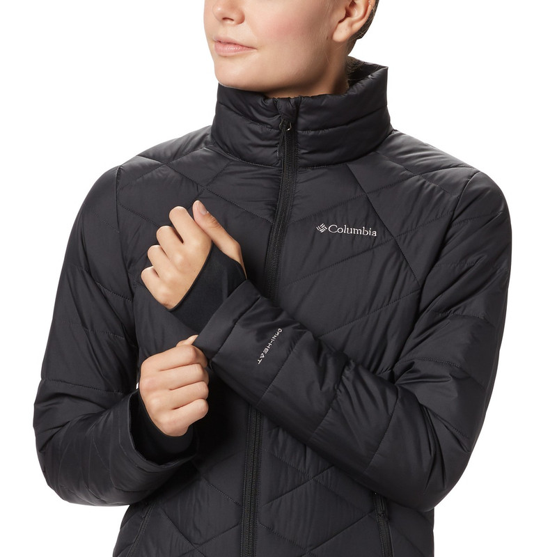 Columbia Women's Heavenly Jacket in Black Color