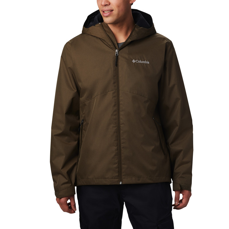 Columbia Rainie Falls Jacket in Olive Green Color