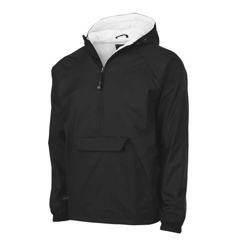 Charles River Classic Pullover in Black Color