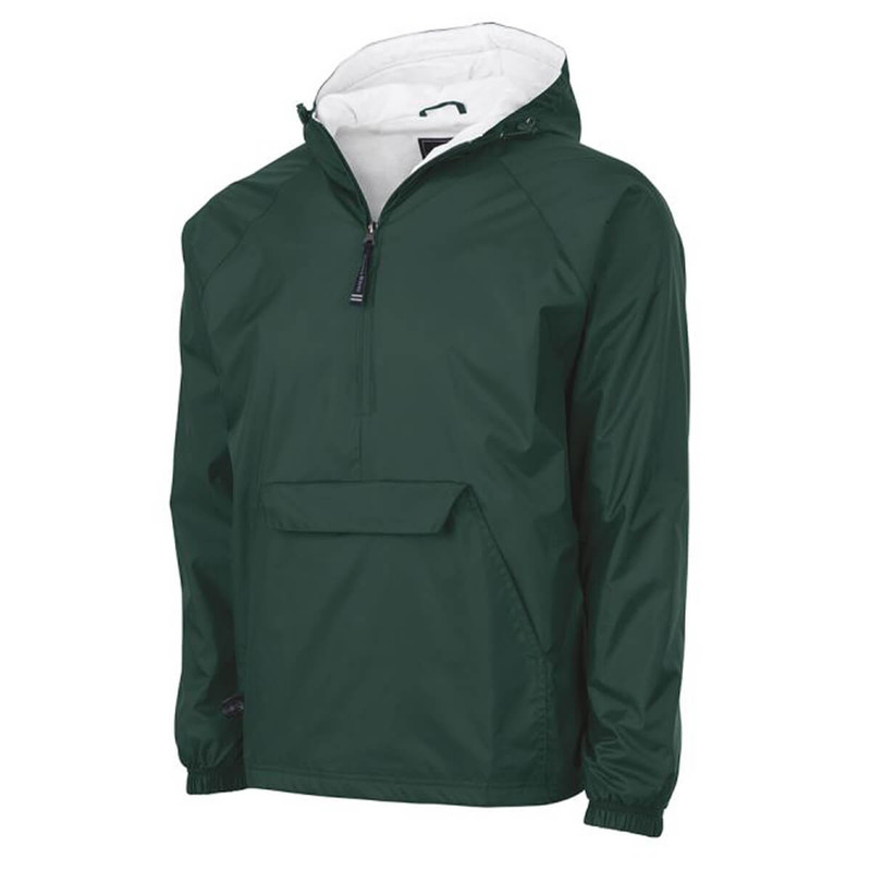 Charles River Classic Pullover in Forest Color