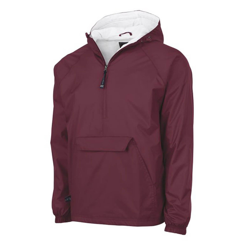 Charles River Classic Pullover in Maroon Color