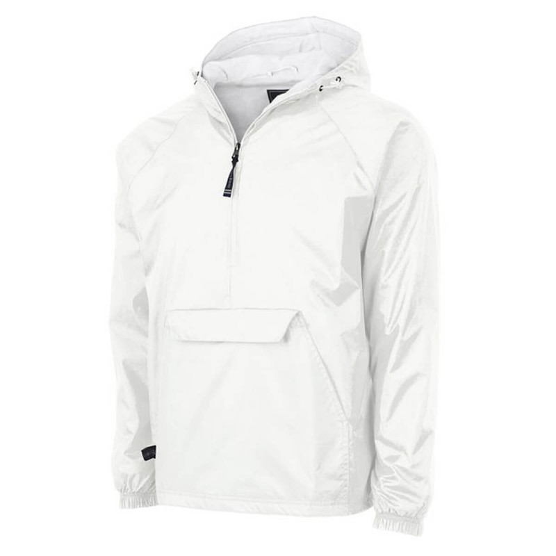 Charles River Classic Pullover in White