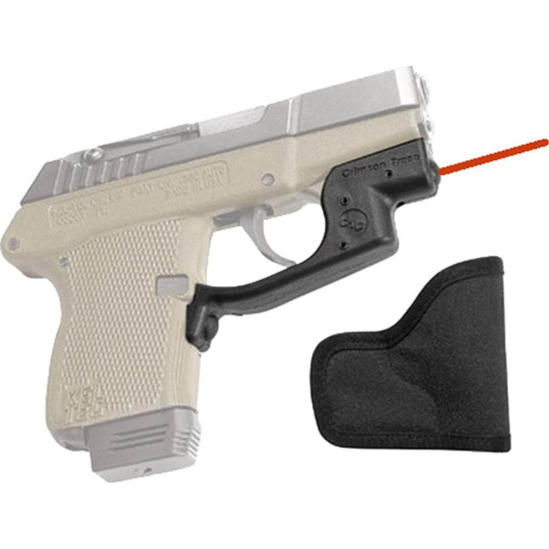 Crimson Trace LG430H Laserguard Red Kel-Tec P3AT/P32 with Holster