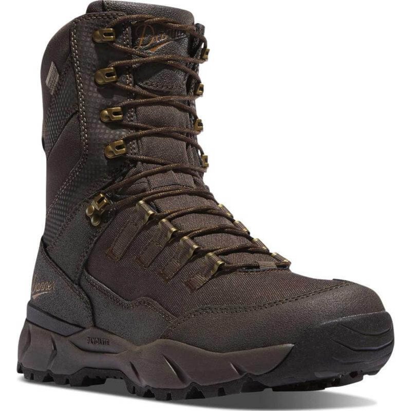 Danner Vital 8 Inch Hunting Boots - Brown in Brown