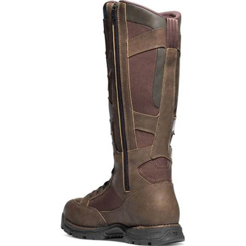 Danner Pronghorn 17 Inch Side Zip Snake Boot - Brown