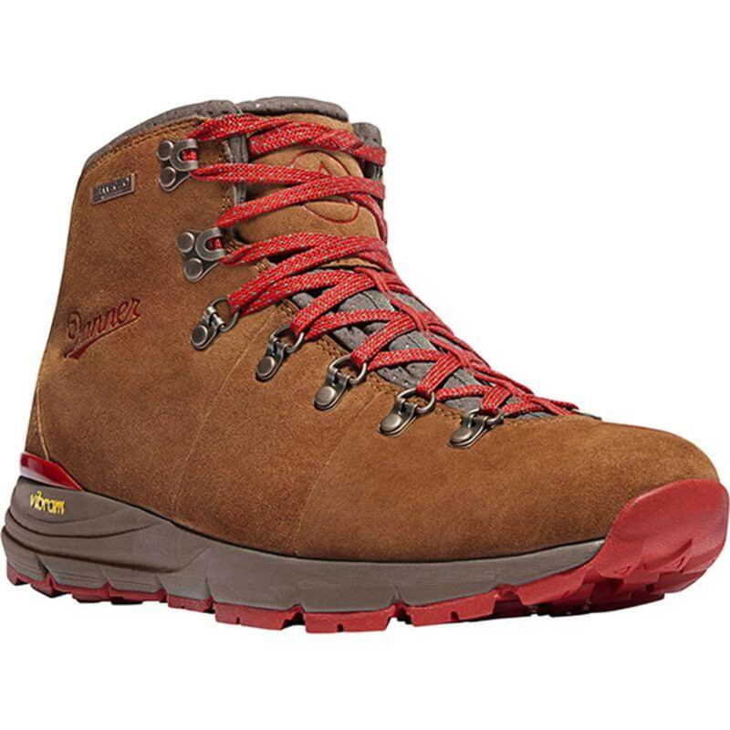 "Danner Womens Mountain 600 4.5"" Brown and Red"