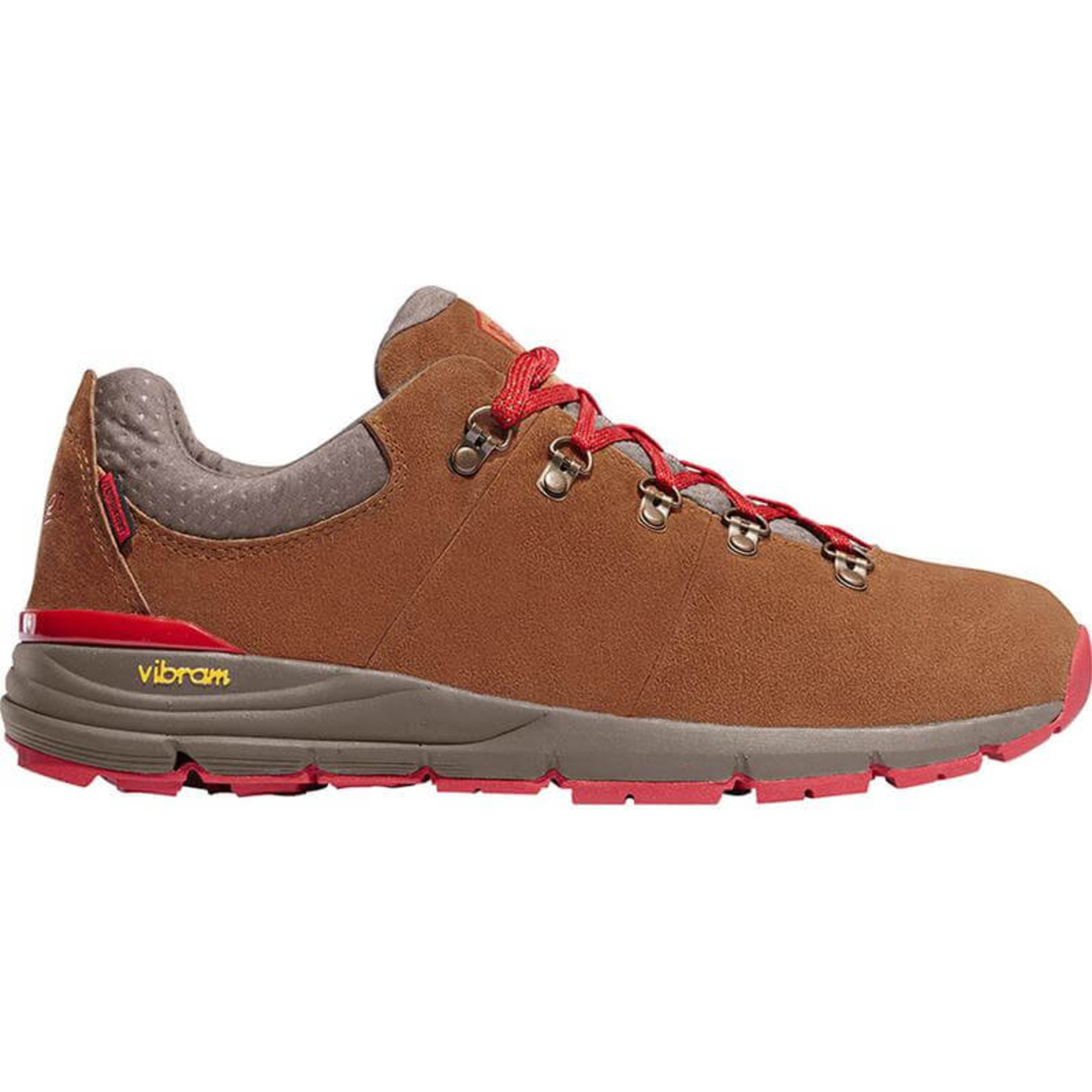 "Danner Men's Mountain 600 Low 3"" Brn/Red"