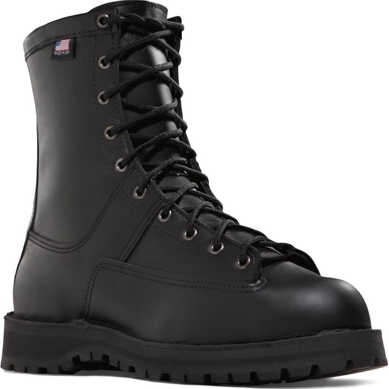 Danner Recon 8 Inch 200 Gram Work Boot in Black Color