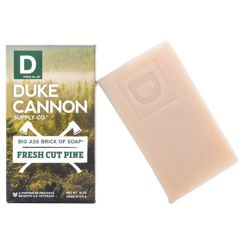 Duke Cannon Big Ass Brick of Soap Fresh Cut Pine
