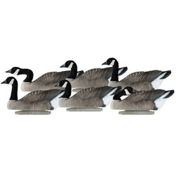 Dakota Decoys Canada Goose Floater Decoys 6 Pack