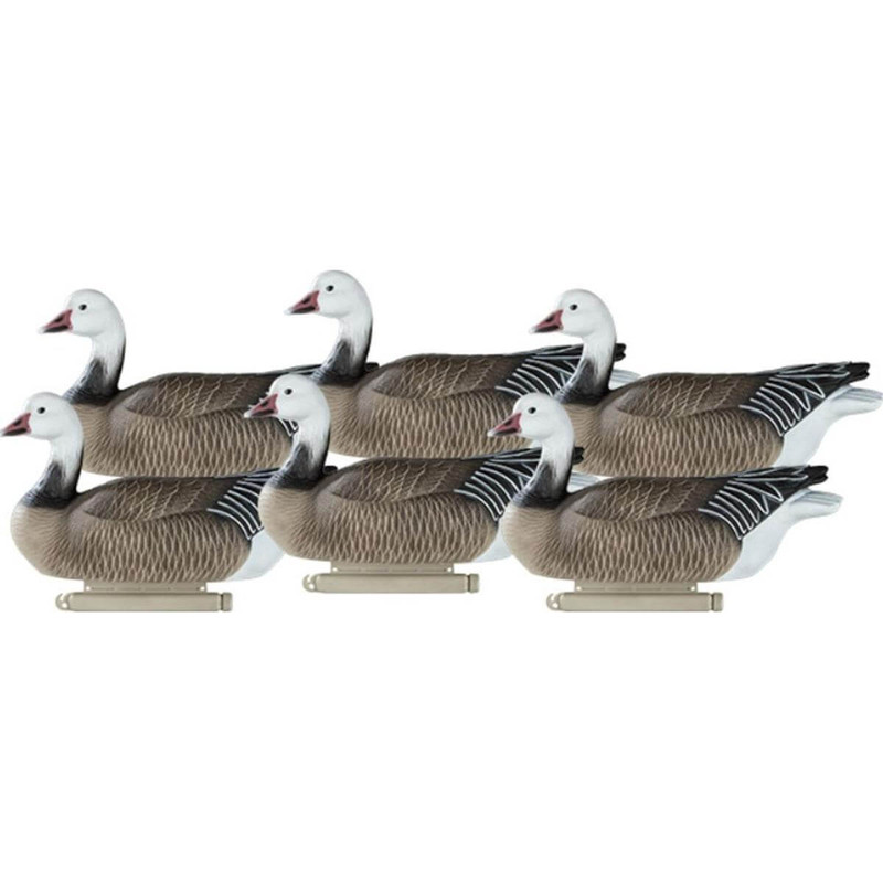 Dakota Decoys X-Treme Blue Goose Floater Decoys 6 Pack