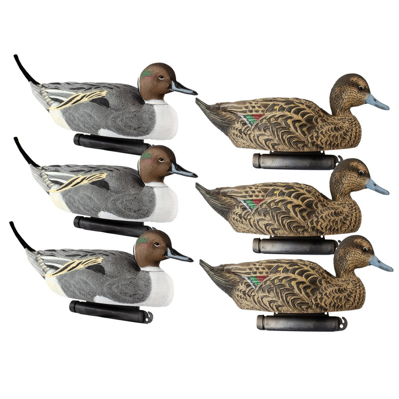 Dakota Decoys X-Treme Pintail Duck Decoys 6 Pack