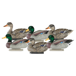 Dakota Decoy X-Treme Mallard Decoys 6 Pack