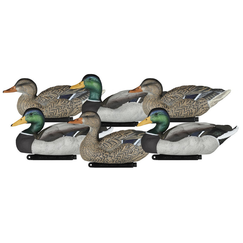 Dakota Decoys Mallard Floater Decoys - 6 Pack