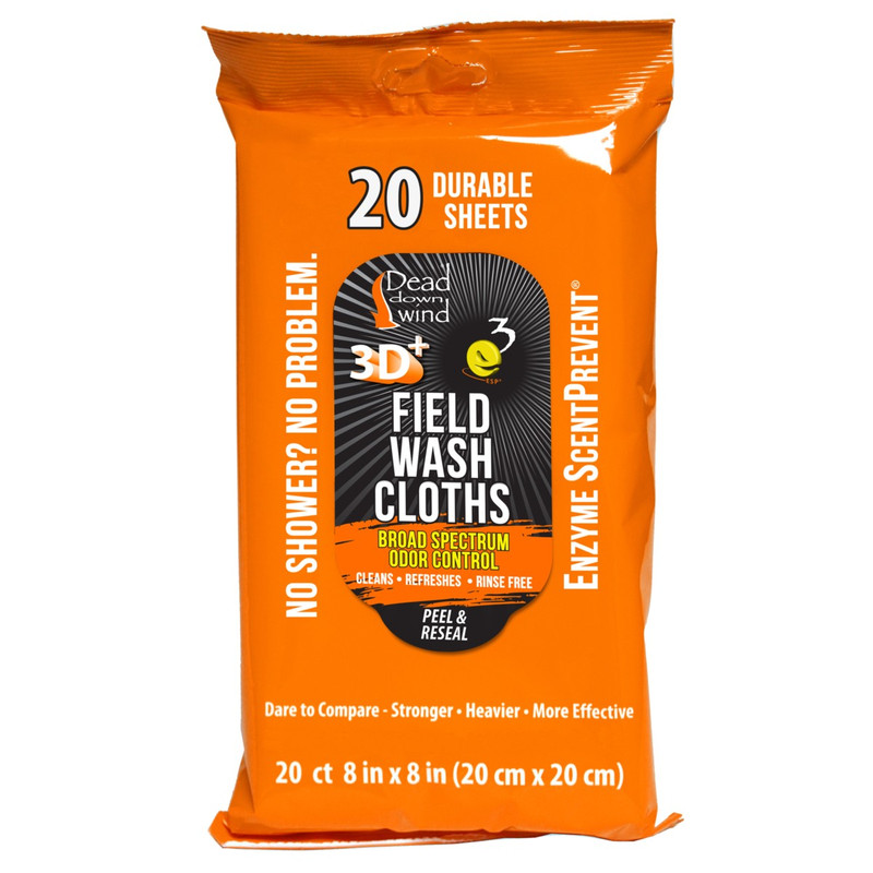 Dead Down Wind Field Wash Cloths - 20 Count