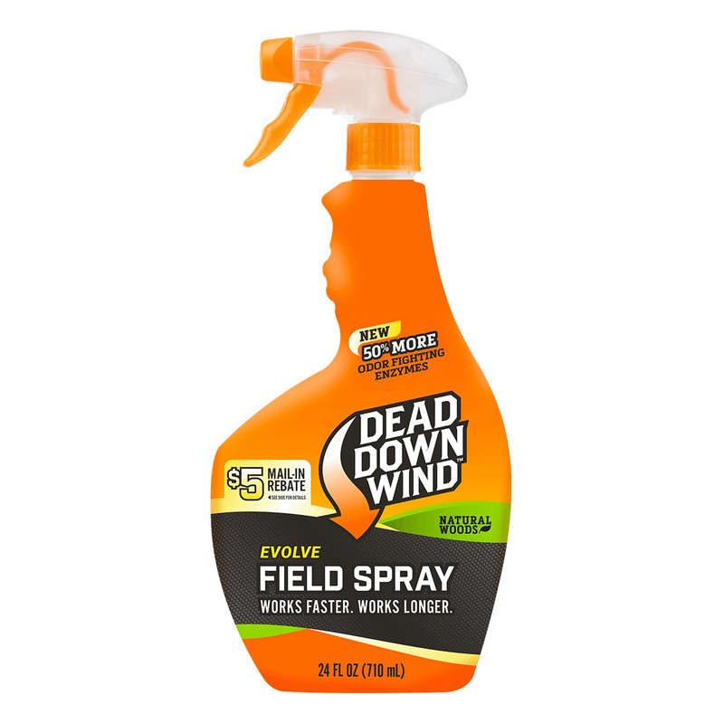 Dead Down Wind Field Spray Natural Woods 24 Oz