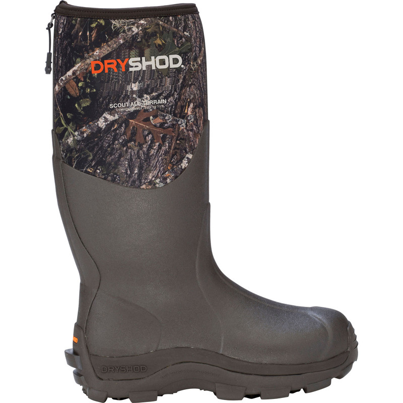 DryShod Scout All Terrain Boot in Camo Color