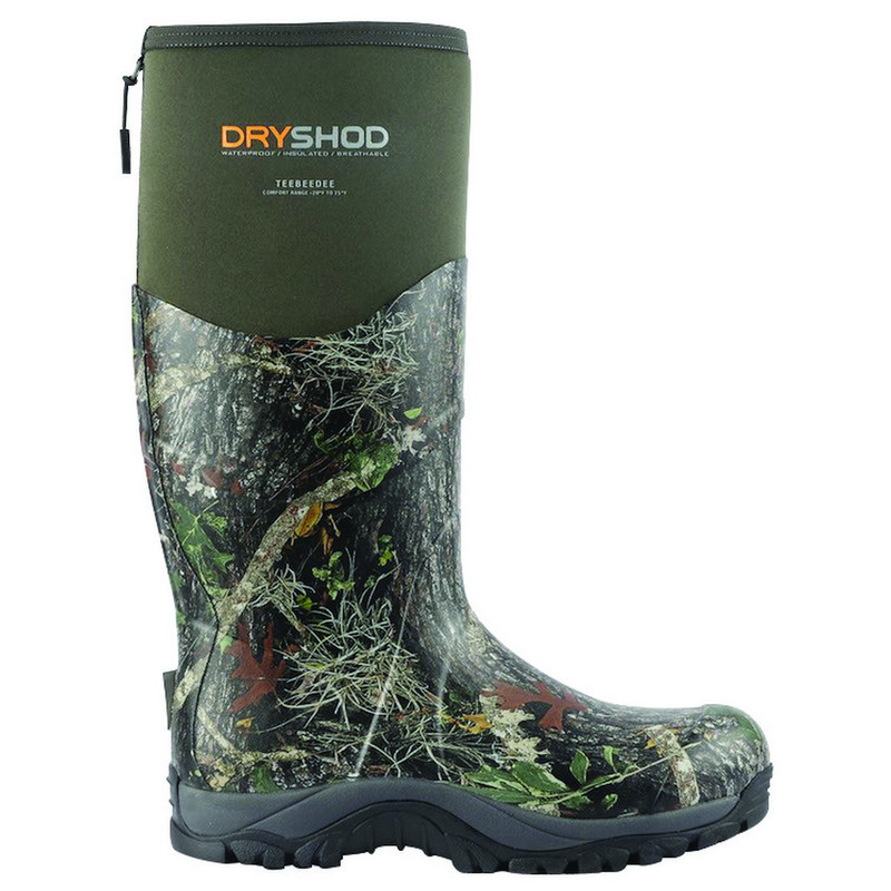 DryShod TeeBeeDee Boots in Camo Color