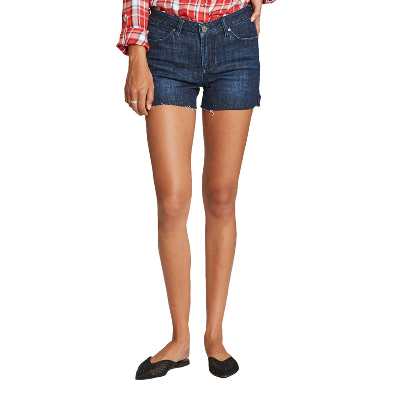 Dear John Gigi Dark Wash Denim Short in Stillwell Color