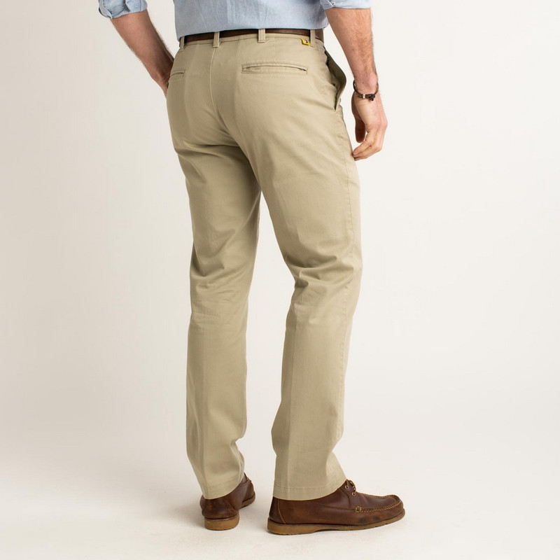 Duck Head Gold School Chino in Khaki Color