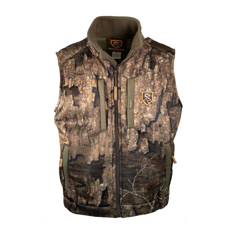 Drake Scent Control Non-Typical Silencer Vest With Agion Active in Realtree Timber Color