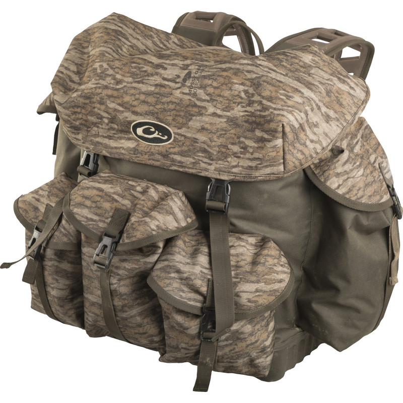 Drake Swamp Sole Backpack 2.0 in Mossy Oak Bottomland Color