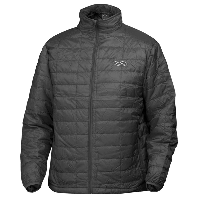 Drake Waterfowl MST Synthetic Down Pac Jacket in Black Color