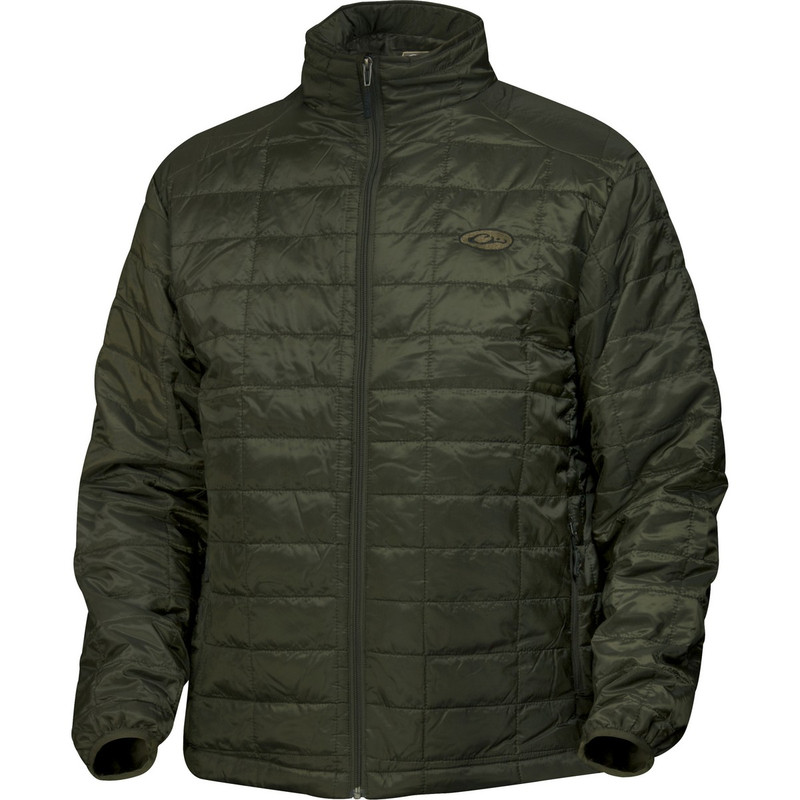 Drake Waterfowl MST Synthetic Down Pac Jacket in Olive Color