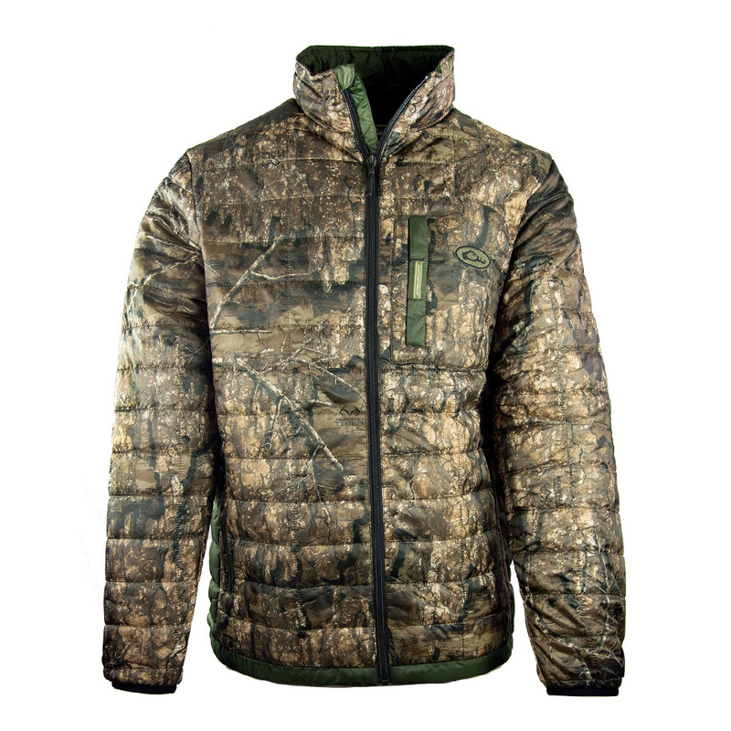 Drake MST Synthetic Down Packable 2-Tone Jacket in Realtree Timber Color