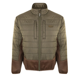 Drake Two-Tone Synthetic Double-Down Full Zip Jacket