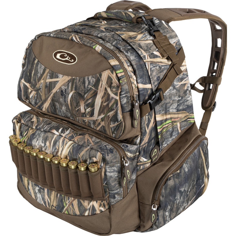 Drake Walk-In Backpack 2.0 in Mossy Oak Blades Habitat Color