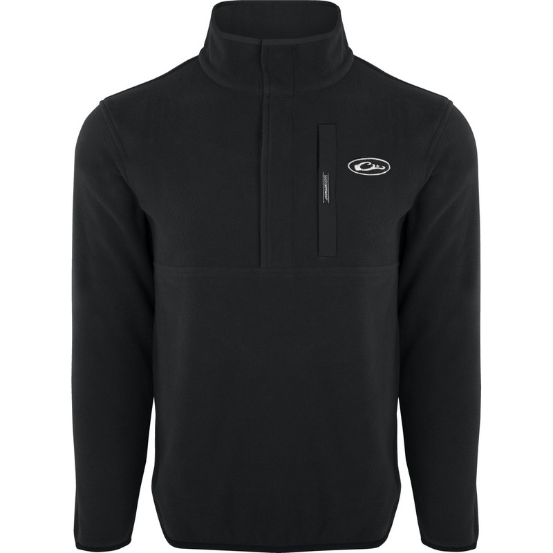 Drake Camp Fleece Pullover 2.0 in Black Color