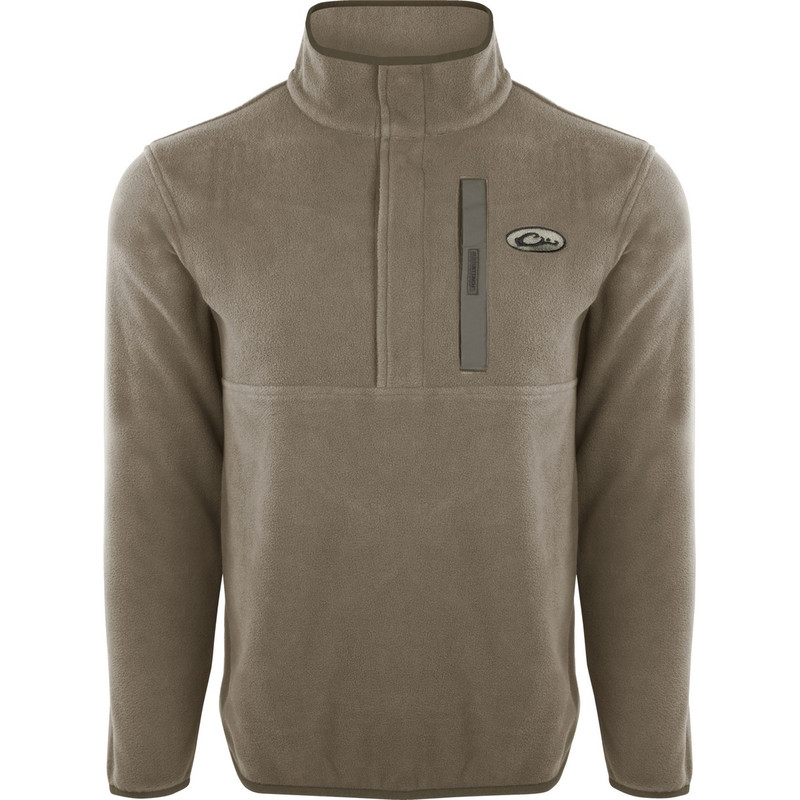Drake Camp Fleece Pullover 2.0 in Moss Color