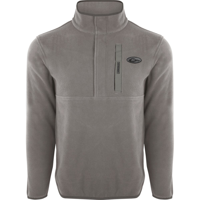 Drake Camp Fleece Pullover 2.0 in Titanium Color