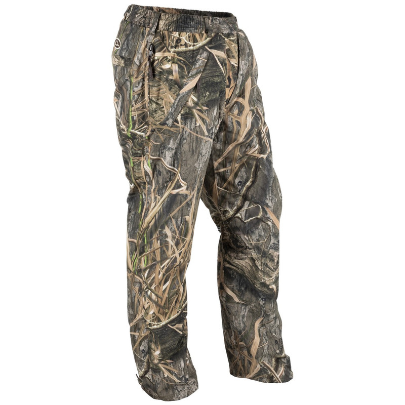 Drake Waterfowl EST Waterproof Hunting Over-Pants in Mossy Oak Blades Habitat Color