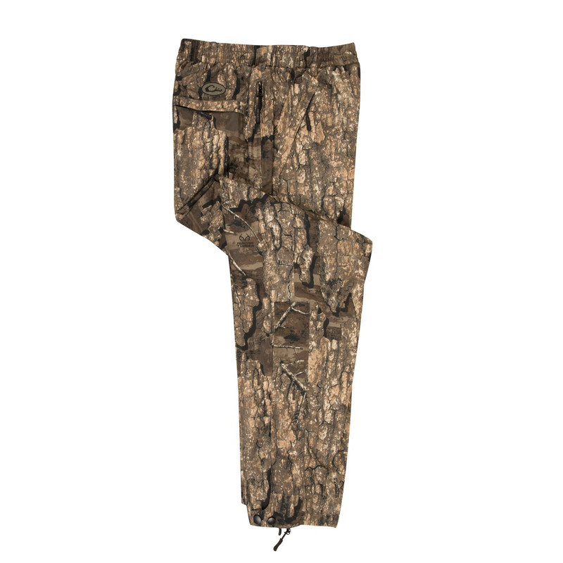 Drake Waterfowl EST Waterproof Hunting Over-Pants in Realtree Timber Color