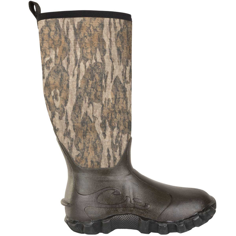 Drake Knee High 2.0 Mudder 16 Inch Boots in Mossy Oak Bottomland Color