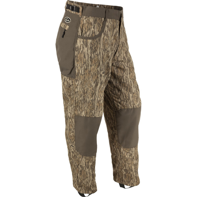 Drake MST Jean Cut Under Wader Pant 2.0 in Mossy Oak Bottomland Color