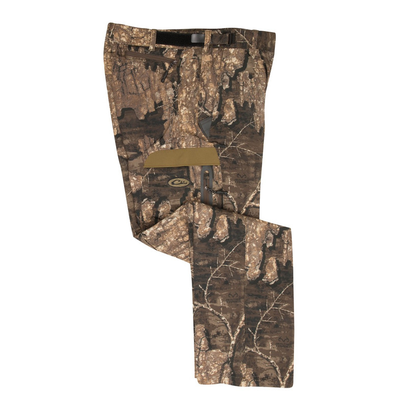 Drake MST Fleece Lined Tech Stretch Pant in Realtree Timber Color