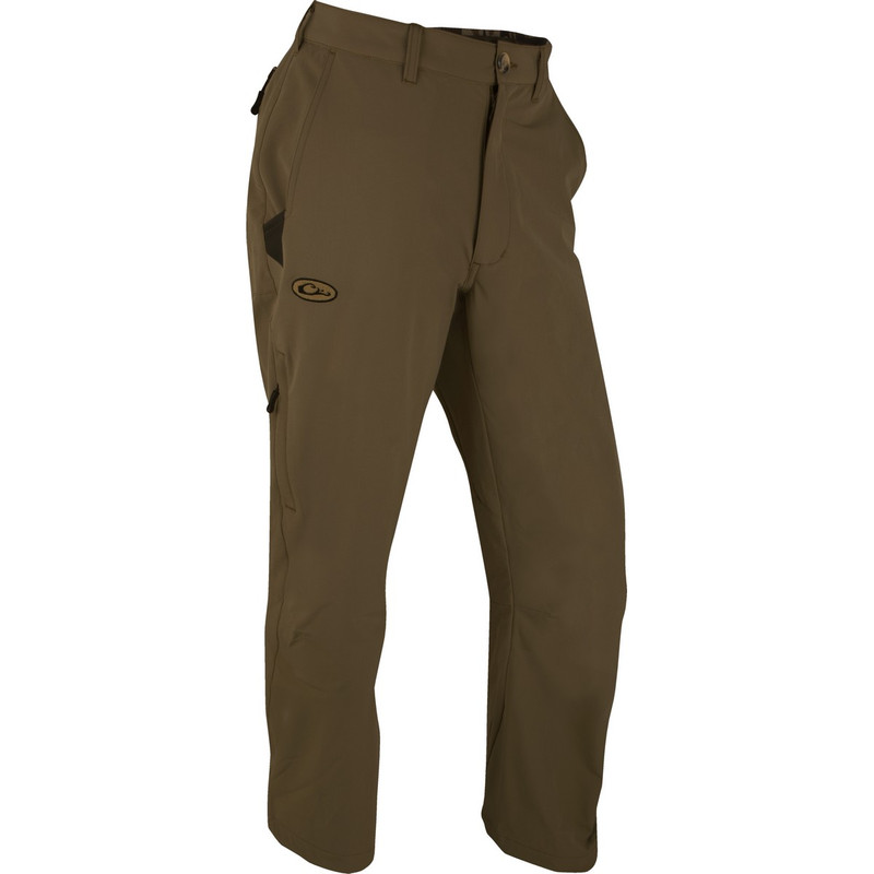 Drake Tech Stretch Pant 2.0 in Chocolate Color