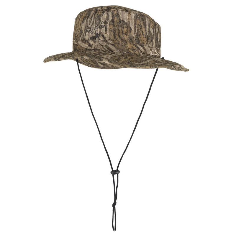 Drake Waterproof Boonie Hat in Mossy Oak Bottomland Color