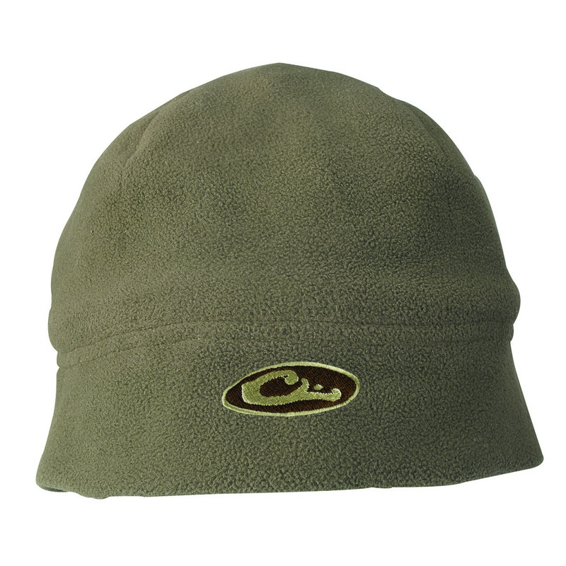 Drake Waterfowl Windproof Fleece Stocking Cap in Olive Color