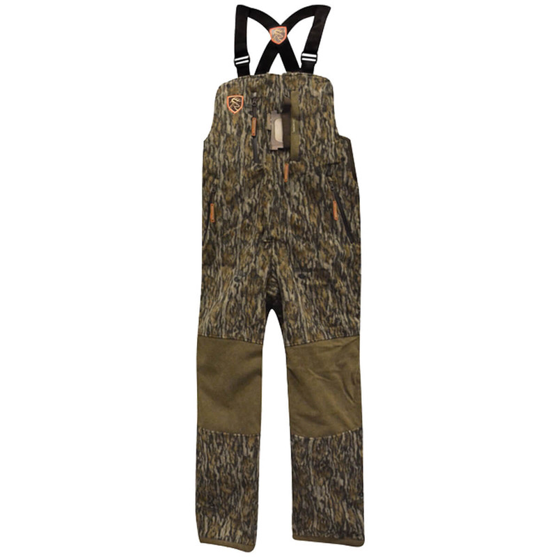 Drake Scent Control Non-Typical Hyrdro-Hush Bib Agion Active XL in Mossy Oak Bottomland Color